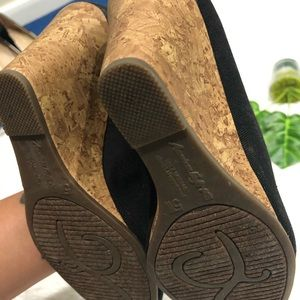 American Eagle Outfitters Shoes - American Eagle Peep Toe Wedges 5W